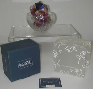 "Marquis Waterford Crystal WYNDMERE Collection Bowl 5"" 2000-03 Potpourri"