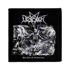 DESASTER woven Patch THE ARTS OF DESTRUCTION - ALBUM COVER Aufnäher Black Metal