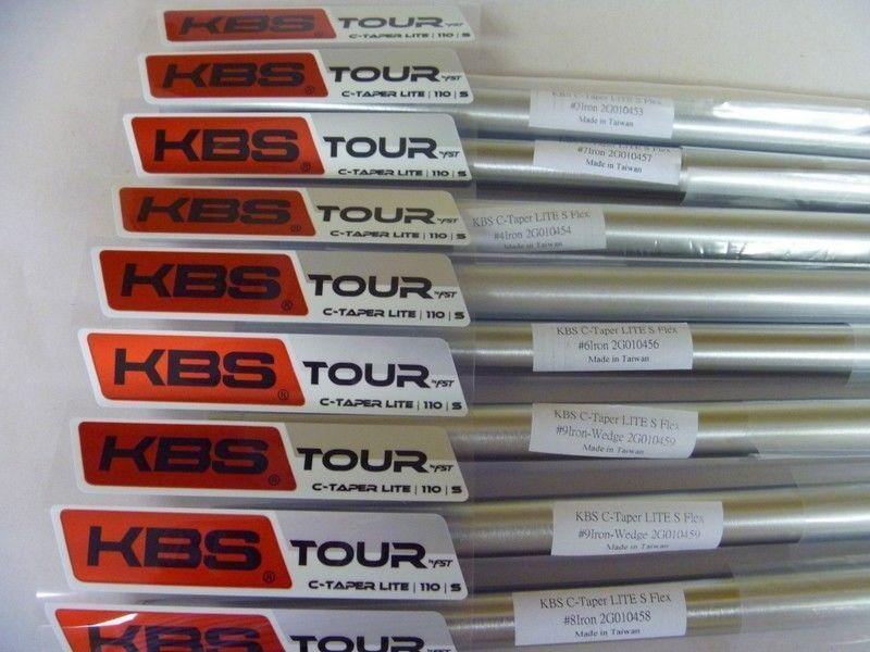 Nuevo Kbs Tour C-Taper Lite Ejes De Hierro .355 conjunto de forma cónica elegir