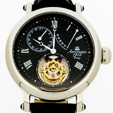 REAL GERMAN FLYING MINUTE TOURBILLON POWERESERVE + DATE A1278