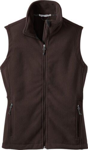 Port Authority Ladies Fleece Vest NEW WINTER FALLS XS-2XL 3XL 4XL Women/'s L219