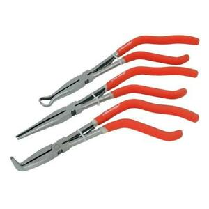 3-Piece-11-034-Pistol-Grip-Long-Reach-Pliers-Set-Hose-Cable-Long-Nose-Pliers