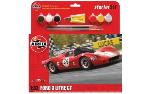 AIRFIX A55308 échelle 1:32 3 L FORD GT Starter Set Model Kit