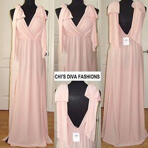 ce2e044cd62e0 Image is loading EX-ASOS-Grecian-Bow-Tie-Shoulder-Maxi-Dress-