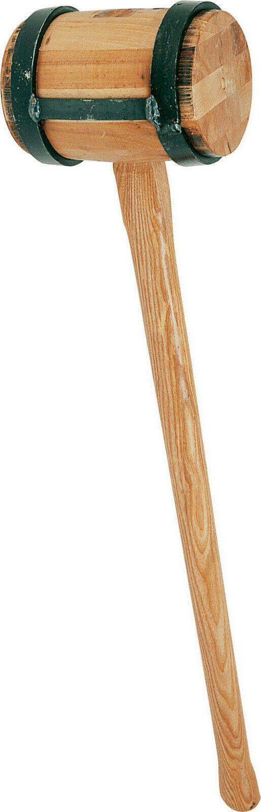 TRIUSO Holzschlegel 4 6 kg Schlegel Holzhammer Einschlaghammer Vorschlaghammer