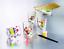miniatura 2 - House Of Crafts Creativo Vetro Dipinto Kit Set Pittura 4 Candela Titolari HC600