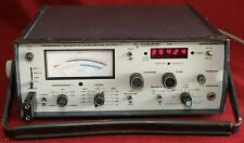 Cushman Ce 24a Frequency Selective Level Meter