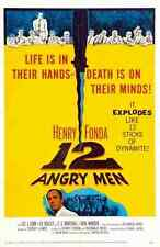 Film 12 Angry Men 03 A3 Box Canvas Print