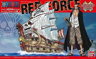New Bandai ONE PIECE Grand Ship Collection Red Force Ship Model Kit Japan