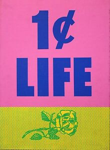 Roy-Lichtenstein-034-1-CENT-LIFE-034-1964-Pop-Art-Portfolio-Cover-Rose-ORIG-SILKSCREEN