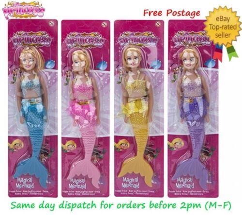 Bambola Sirena Magico con Accessori Calza Filler Principessa Ragazze Giocattolo