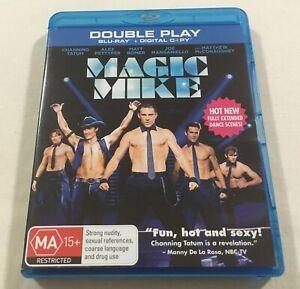 Magic-Mike-2012-Blu-Ray-Region-B-Like-New-Channing-Tatum-Olivia-Munn