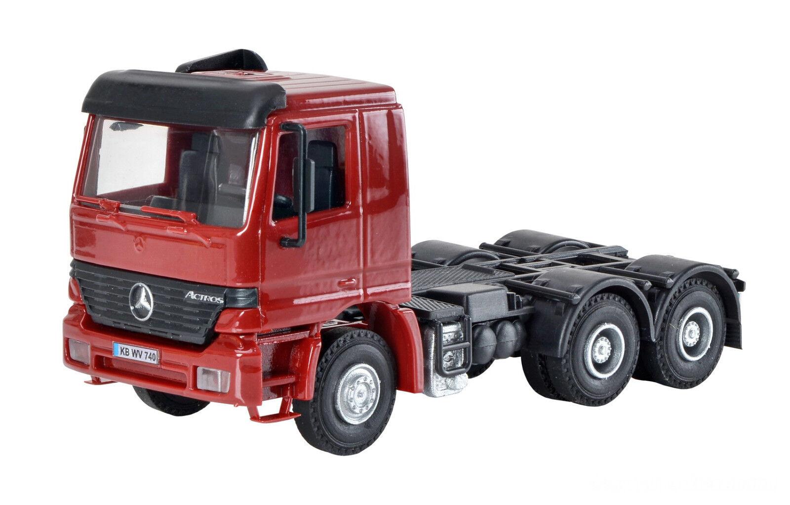H0 MB ACTROS 3-achs Tractor Kit 1 87, Kibri 14664