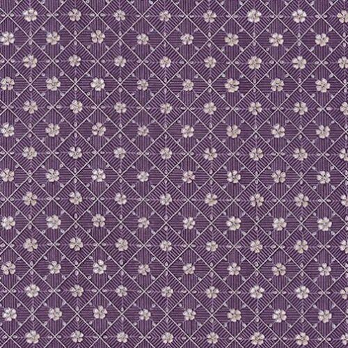 Moonlight Giardino Argento Metallizzato Robert Kaufman Tessuto in Cotone Quilt srkm 19004