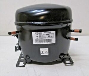 Details about EMBRACO FFU130HAX Replacement Refrigeration Compressor 1/3 HP  R-134A R134A 115V