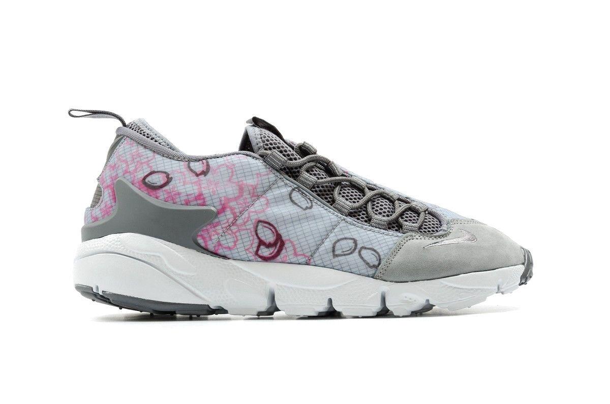 newest 84d6a e60a2 Hommes NIKE AIR FOOTSCAPE NM PREM QS Chaussures gris rose blast 846786 002  MSRP 140