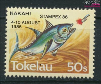 complete Issue 9305177 Kind-Hearted Tokelau 129 Unmounted Mint / Never Hinged 1986 Stamp