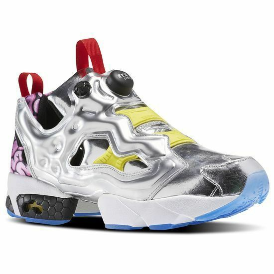 Reebok Instapump Fury Krang Pump VP Villains Silver Krang Fury japan Men aape Turtle AR1445 1f7b5d