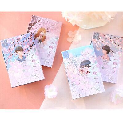 North of Yama Sakura Japan Kirschblüten Sakura Postkarten Manga Anime Kawaii 30x