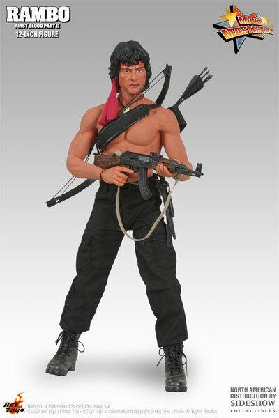 HOT TOYS 16 Rambo primera sangre II MMS06 John J. Rambo obra maestra Figura De Acción