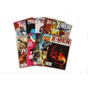 10 Comic Book bundle lot with 10 X-Men Random Comic Collection
