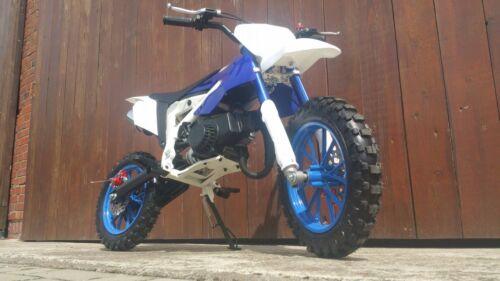 Pocketbike Crossbike Dirtbike 49cc 2 Takt KXD 706 Kinder Motorrad Blau