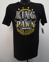 King Of Pawn Medium Shirt Mens Pawn Stars Las Vegas Get Back In The Game