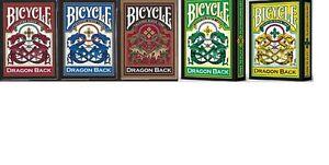 CARTE DA GIOCO BICYCLE DRAGON BACK,poker size