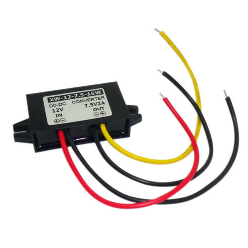 DC12V To DC7.5V 2A 15W Step Down Power Supply Converter Regulator Module #D