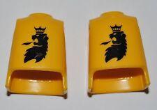 13154 Cuerpo caballero león amarillo 2u playmobil,body,lion knight