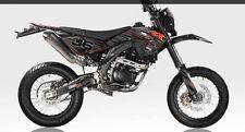 apollo orion rx50 2013 Onwards Decals Sticker Kit Black Stealth Look