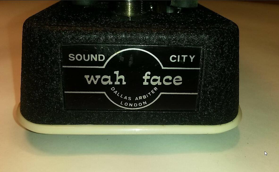 Dallas Arbiter Wah-Face JEN,italy-rot-fasel-fully-serviced-slight gagan mods 60s