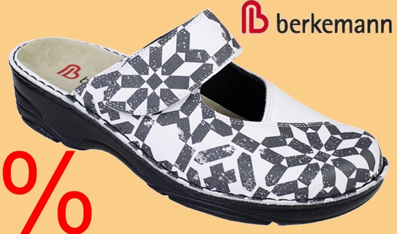 Pantoletten Clogs REDUZIERT Hausschuhe Pantoffeln Berkemann WECHSELFUßBETT REDUZIERT Clogs e68f90