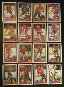 1984-85-OPC-MONTREAL-CANADIENS-Select-from-LIST-NHL-HOCKEY-CARDS-O-PEE-CHEE