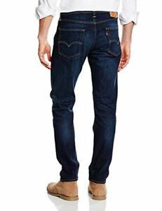ccbcba804ca5db Levis Mens 502 Regular Taper Fit Stretch Jeans Blue Washed Stonewash ...