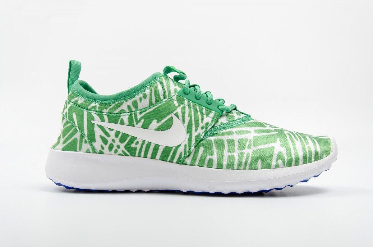 Nike juvenate Imprimé Taille UK 5 EUR 38.5 Chaussures Femme Baskets Chaussures De Course Blanc Vert