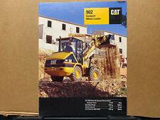 Caterpillar 902 Compact Wheel Loader Brochurecatalog 1998