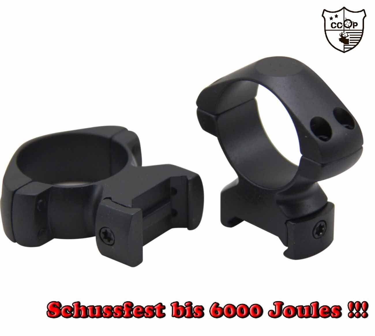 Hohe Stahl Zielfernrohr Montage Ringe mit 30mm Ø für 21mm 21mm 21mm Weaver   Picatinny  | Geeignet für Farbe  dff9c8