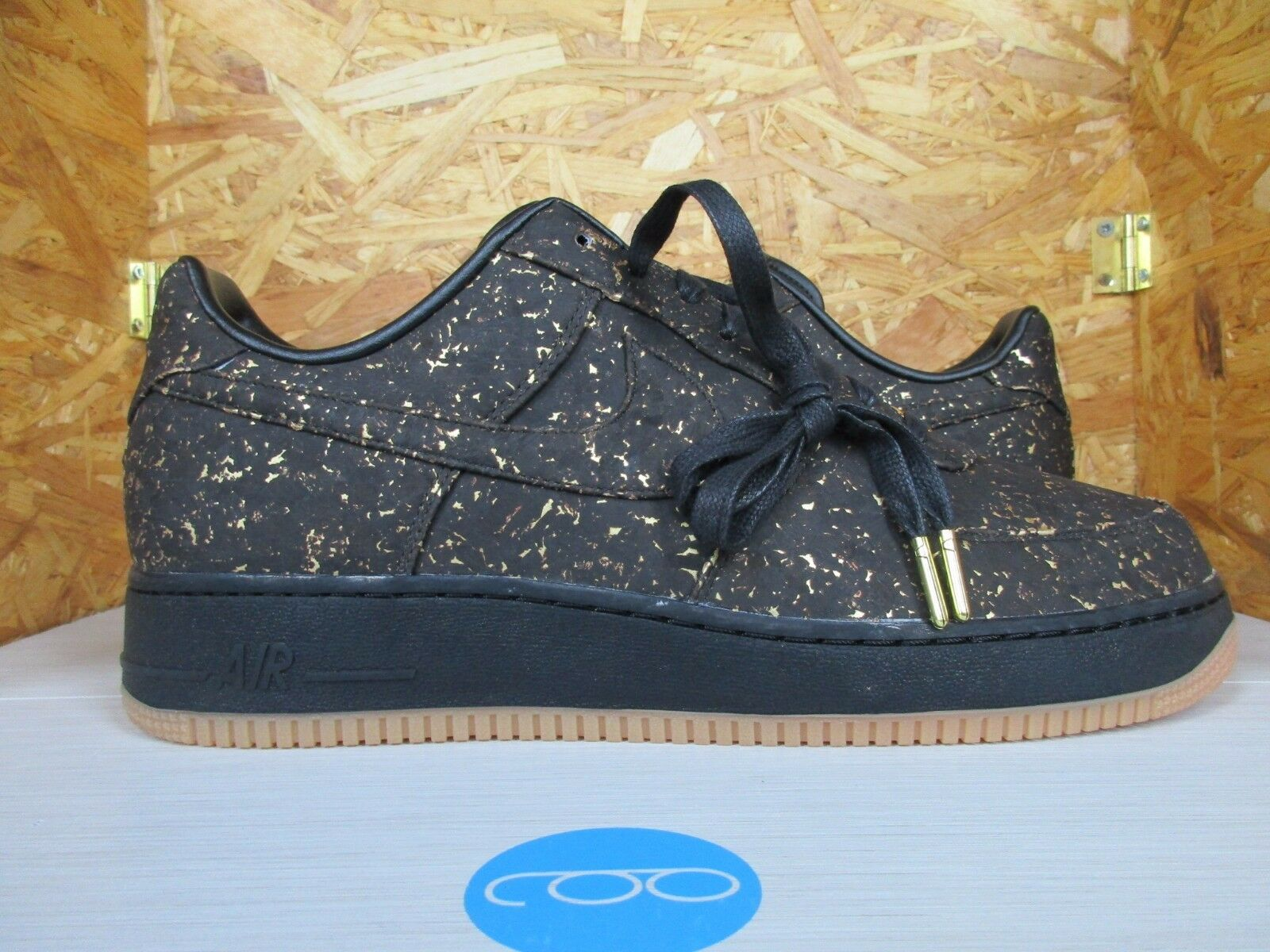 Nike Air Force 1 Low Premium ID 12 AF1 Cork gold Champions golden State Warriors