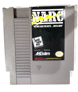 NARC Original Nintendo NES Game Tested + Working & Authentic!