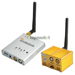 4-channels-2-4G-3W-Wireless-FM-A-V-Receiver-and-1-5W-Transmitter