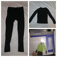 Cuddl Duds Chill Chasers 2-piece Boys Set Winter Maintains Warmth Comfortable