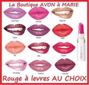 Rouge-a-levres-KISS-N-039-GO-aux-ULTRA-PIGMENTS-COLOR-TREND-AVON-NEUF-au-CHOIX
