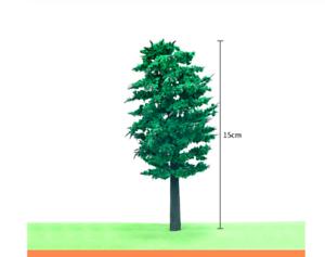 5 Trees 1:24 (G) Scale Diorama Miniature 15cm/6'' High