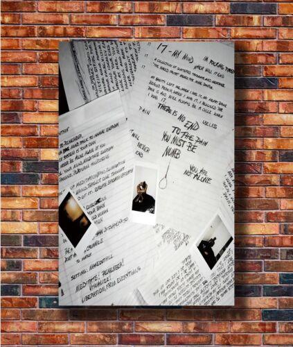 New XXXTENTACION 17 New Album Hip Hop Poster 14x21 24x36 Art Gift X-3349