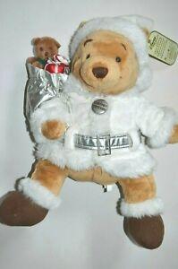 NEW-Large-17-034-Disney-Winnie-Pooh-Limited-Edition-2007-Christmas-Soft-toy-xmas