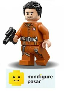 sw865-Lego-Star-Wars-75188-Poe-Dameron-Jumpsuit-Minifigure-with-Blaster-New