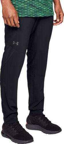 Under Armour Vanish Tissé Homme Pantalons de sport Noir Jogging Gym Sport Pantalon De Survêtement