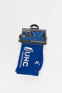 Nouveau 2016 Swiftwick Uhc Pro Cyclisme Vision Five Compression Chaussettes, Bleu, Taille L-afficher Le Titre D'origine
