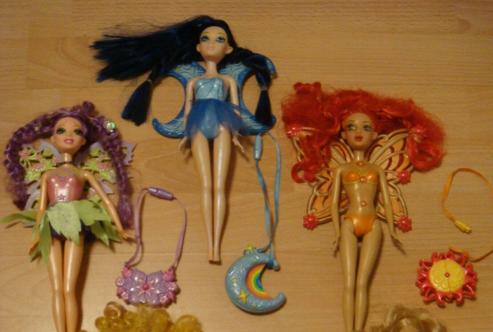 Barbie Fairytopia Die Magie des Regenbogens Fee Glee & Sunburst & Lumina Mattel